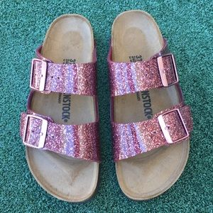 NWT Birkenstock Arizona Sandal Cosmic Sparkle Port